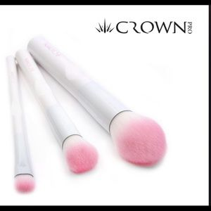 Crown 3 piece brush trio
